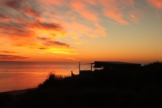 Beautiful Sunset at the Wilderness Island Camp