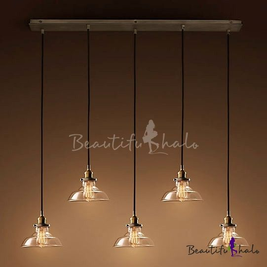Crystal Shade Ceiling Light Fixture