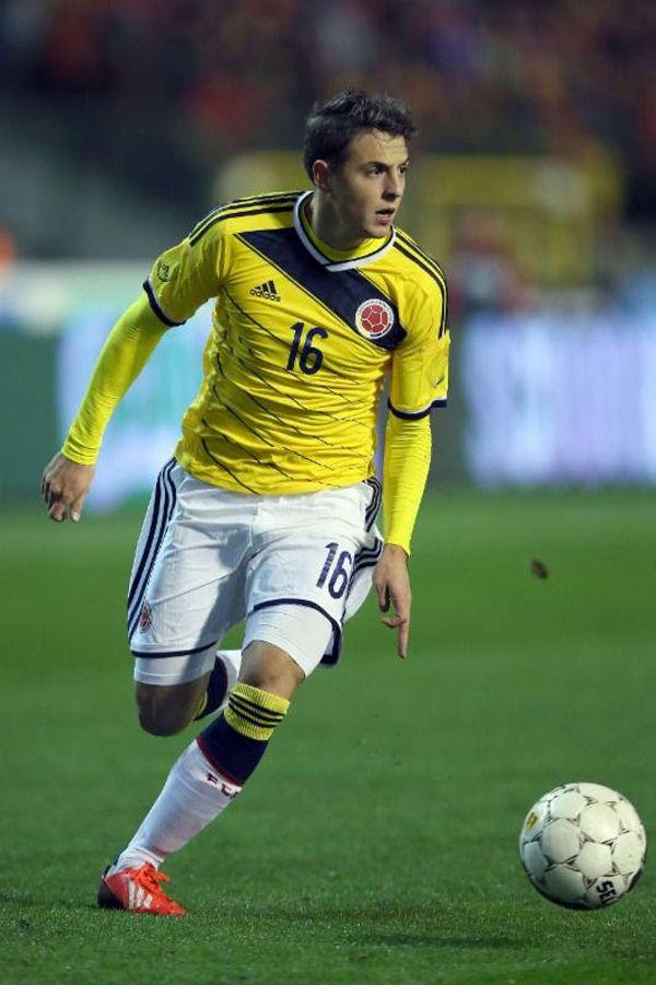 Santiago Arias en el primer-partido de Colombia en la Copa América 2015.