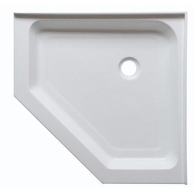 Anzzi Randi 36 X 36 Neo Angle Double Threshold Shower Base