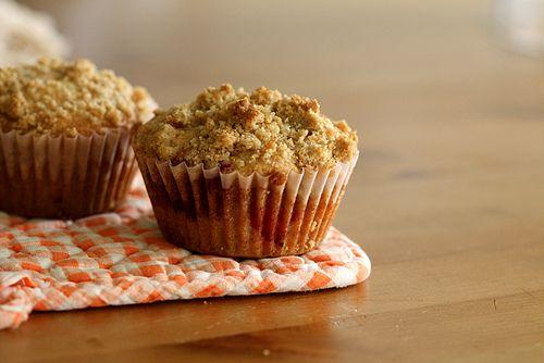 Raspberry Crumbcake Muffins