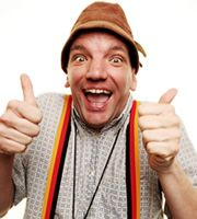 Henning Knows Best. Very funny radio programme on Radio 4 by Henning Wehn.