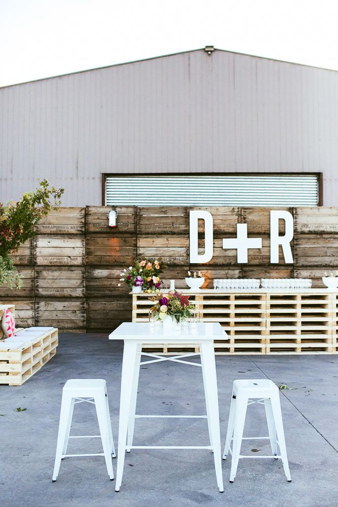Shed Wedding by The Style Co. - www.thestyleco.com.au #thestyleco