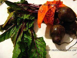 Cocina Costarricense: hojas de remolacha