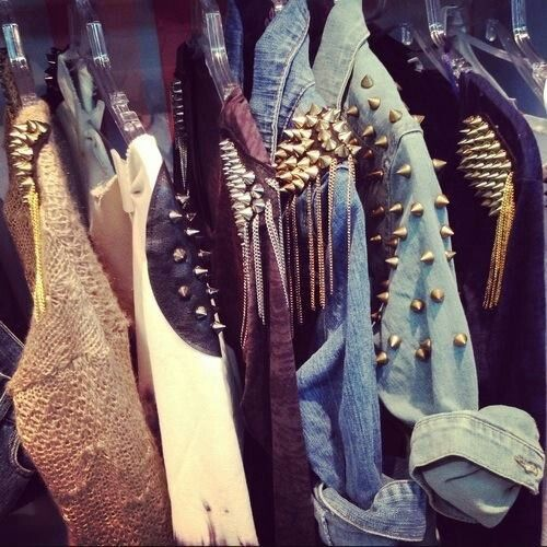 A wardrobe filled with awesome goodies