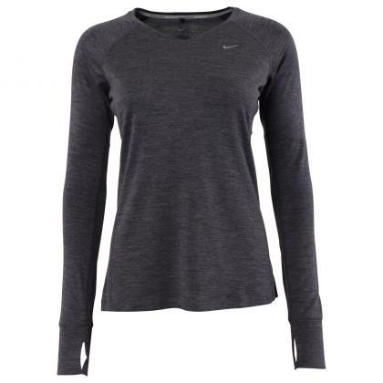 Nike Dri-Fit Wool V-Neck Top Purple Dynasty/Heath 1225264
