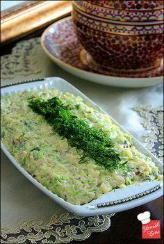 Arpa Şehriyeli Kabak Salatası