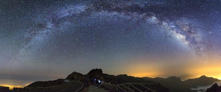 Milky way at La Palma