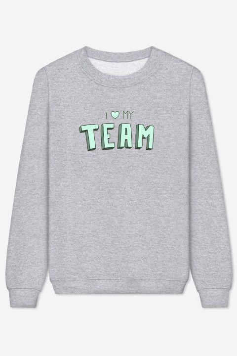 Rad |  Sweater I Love My Team - BACK TO SCHOOL