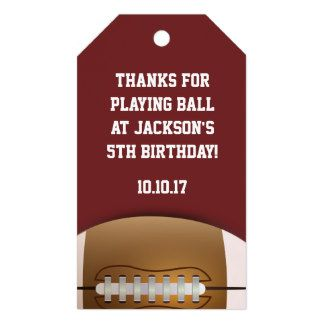 Football Themed Favor Tags. Click through to find matching games, favors, thank you cards, inserts, decor, and more.  Or shop our 1000+ designs for all of life's journeys. Weddings, birthdays, new babies, anniversaries, and more. Only at Aesthetic Journeys