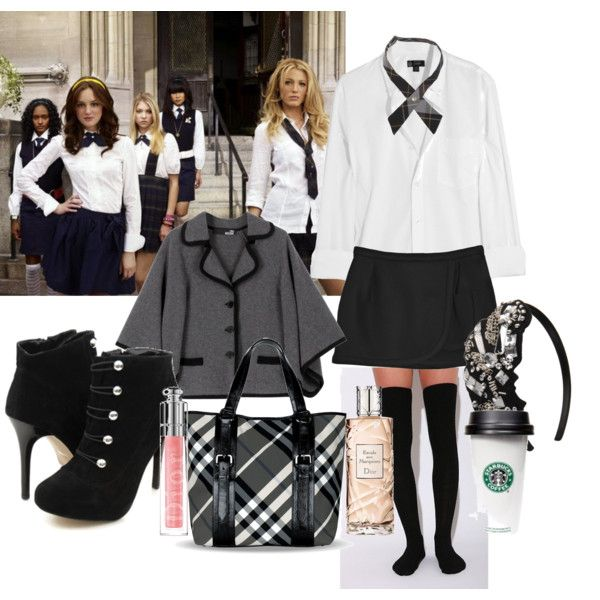 Lol I always feel like I'm a character from gossip girl whenever I'm in my school uniform