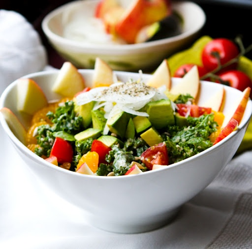 Fully-Loaded Kale Salad