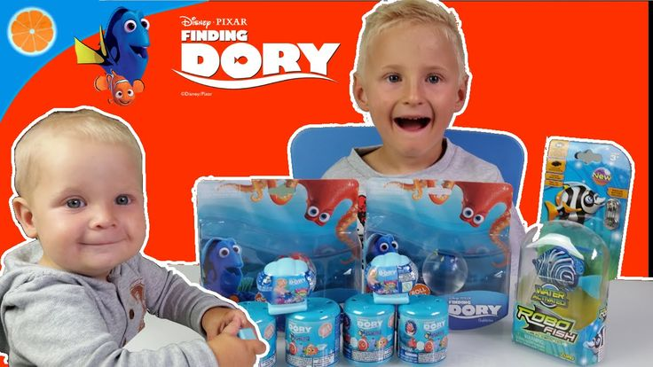 Finding Dory Mashems | Gubbles Finding Dory Squishy pops | Robo Fish