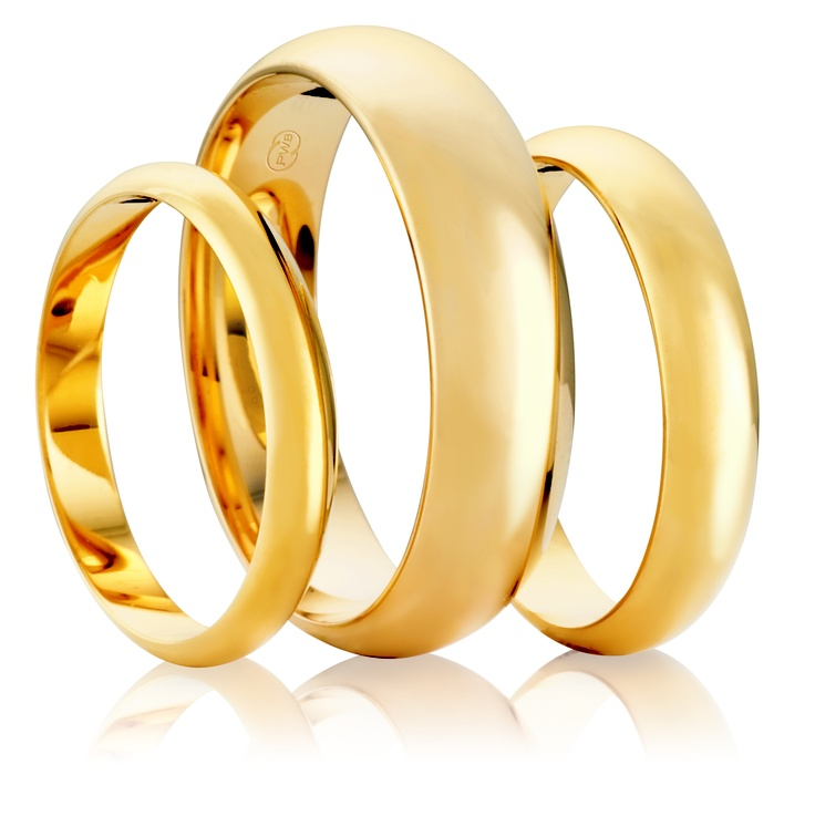 Australian Made Wedding Rings - High Dome, stunning choice for men and women.