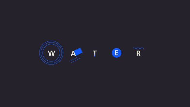 Kinetic Typography about water Written, designed, and animated by Hyungsoon Joo Voice over by Abby Watson Music: Rose by Ludovico Einaudi
