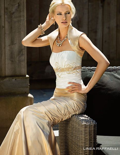 Brautkleid gebraucht linea raffaelli