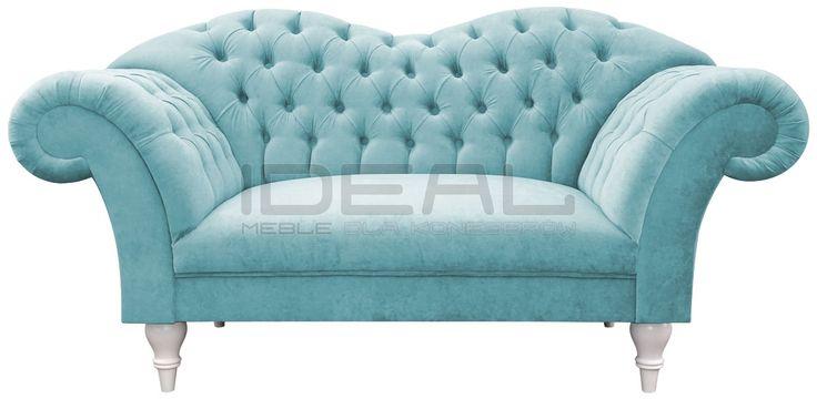 niebieska sofa chesterfield, blue chesterfield, pluszowa sofa chesterfield, velvet chesterfield, styl angielski, fotel chesterfield, armchair   niebieski, błękitny, lazurowa, indygo, turkusowa, navy, Sofa, granatowa, aksamitna, pastelowa  sofa_chesterfield_madame_DSC00350a.jpg (1200×587)