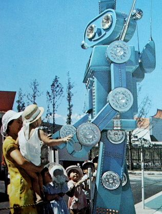 The 1970 Worlds Fair -- a.k.a. Expo 70 -- opened in Osaka