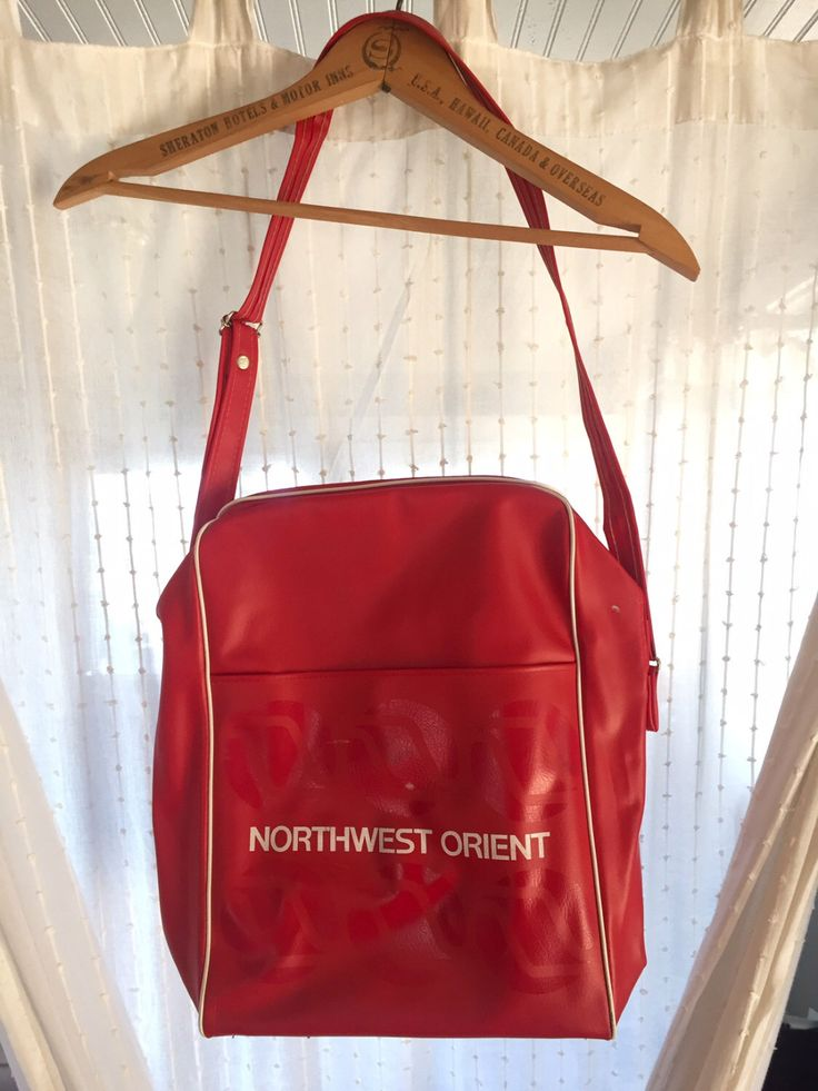 A personal favorite from my Etsy shop https://www.etsy.com/listing/456675046/vintage-northwest-orient-airline-bag