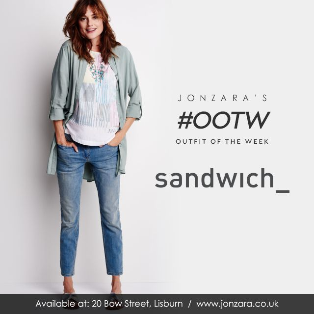 Our #OOTW is by Sandwich Clothing from their latest collection and it's effortlessly cool http://www.jonzara.co.uk/fashion/designers/sandwich-clothing.html Sandwich Clothing #Jonzara