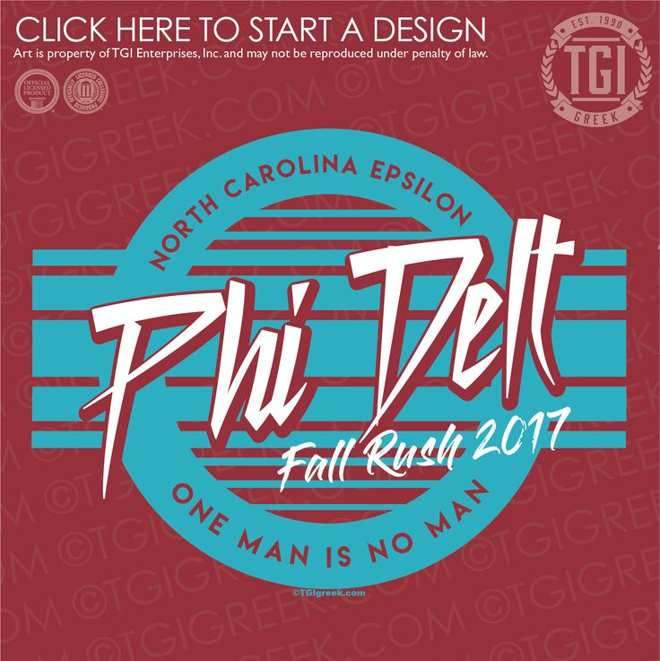 Phi Delta Theta | ΦΔΘ | Rush | Rush Shirt | TGI Greek | Greek Apparel | Custom Apparel | Fraternity Tee Shirts | Fraternity T-shirts | Custom T-Shirts