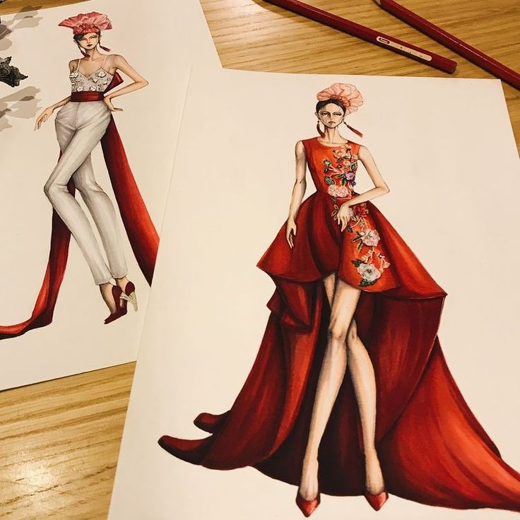 Rosey red garment designs... Ylime xxx