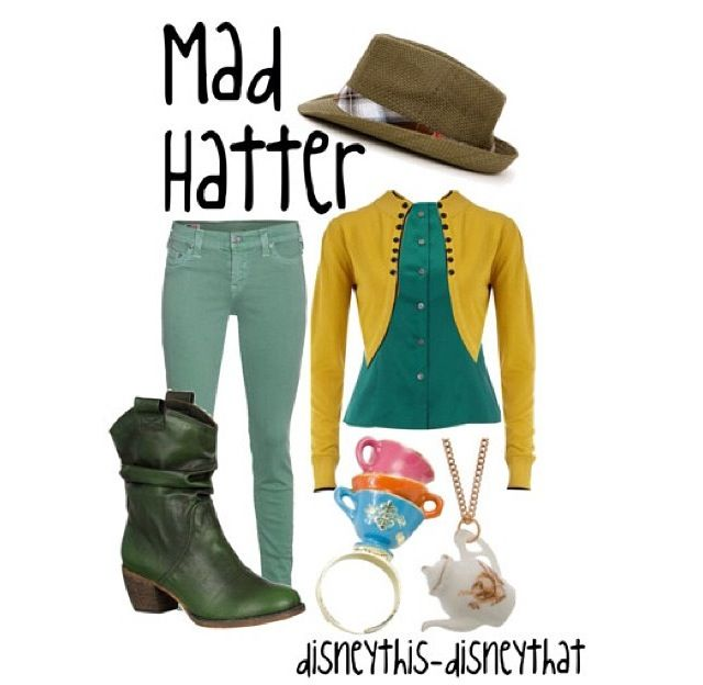 Mad hatter :) disney outfits :)