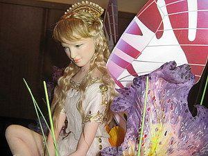Небольшая поэтапка лепки головы милой девушки (в последующем - кукла Принцесса Эльфов)   Ярмарка Мастеров - ручная работа, handmade