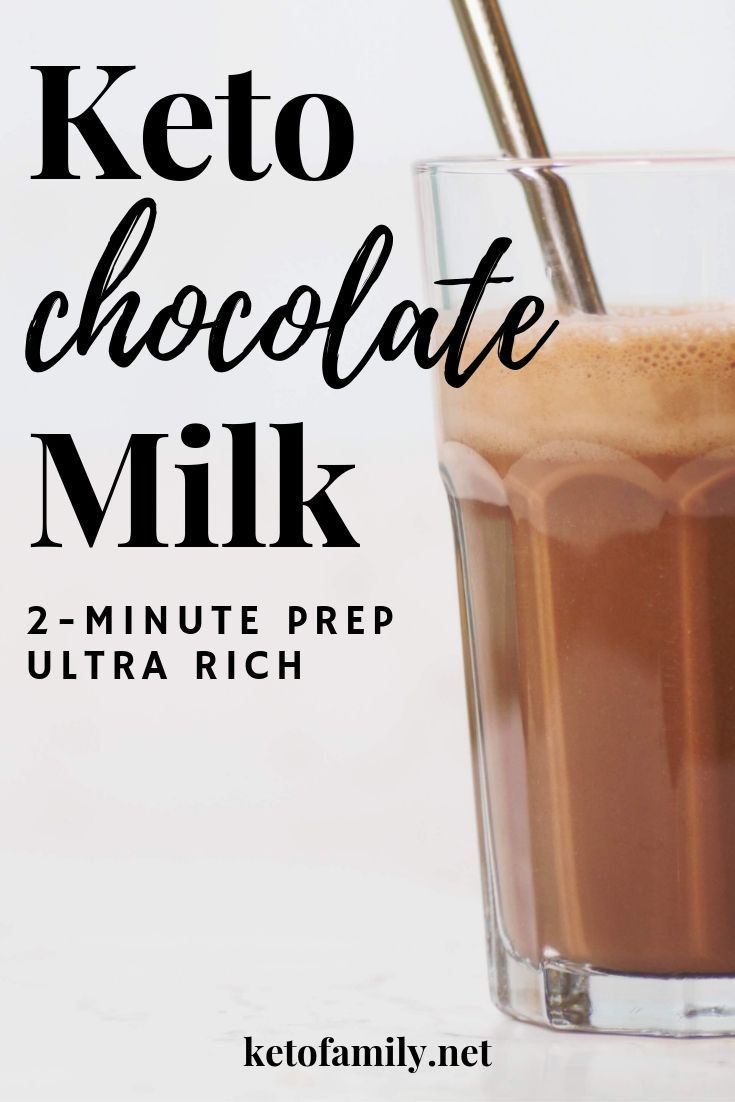 chocolate milk on a keto diet