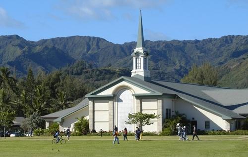 BYU Hawaii campus.