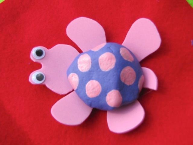 tartaruga in gomma crepla