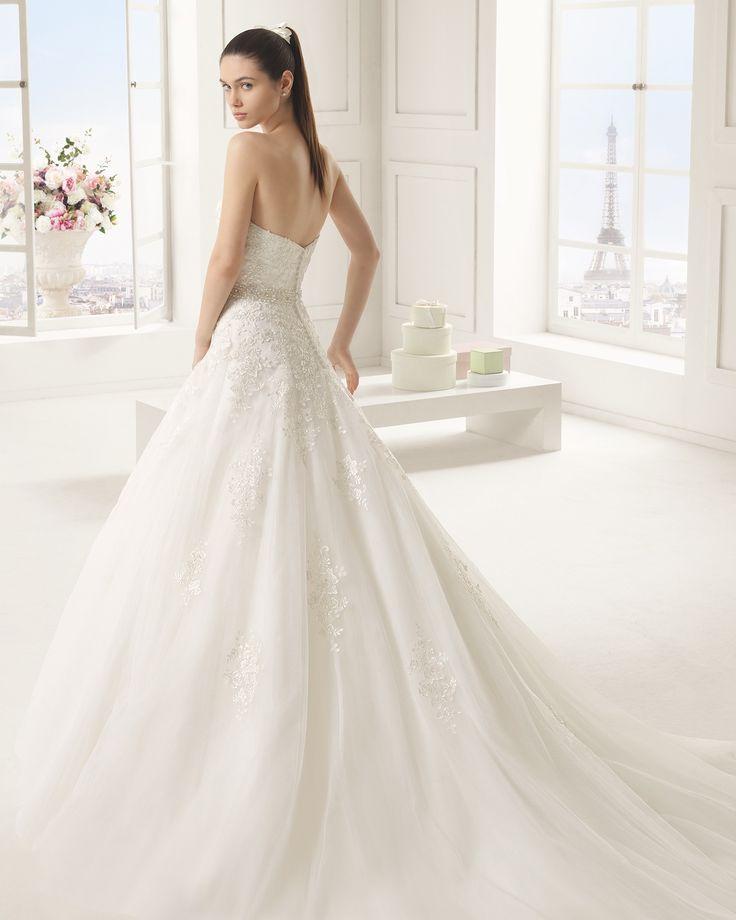 Eli - Rosa Clará - Esküvői ruhák - Ananász Szalon - esküvői, menyasszonyi és alkalmi ruhaszalon Budapesten