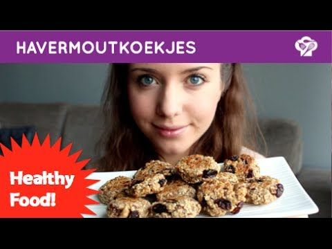 FOODGLOSS - Healthy havermoutkoekjes