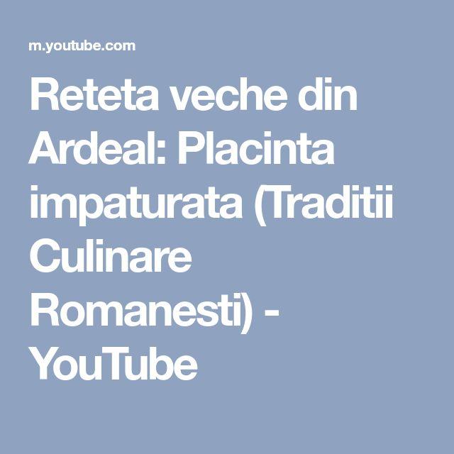 Reteta veche din Ardeal: Placinta impaturata (Traditii Culinare Romanesti) - YouTube