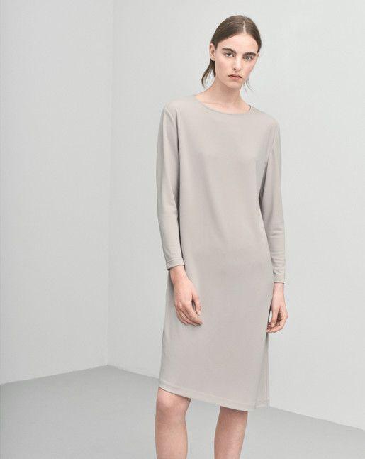 Jersey Tunic Dress Dove - Dresses - Shop Woman - Filippa K