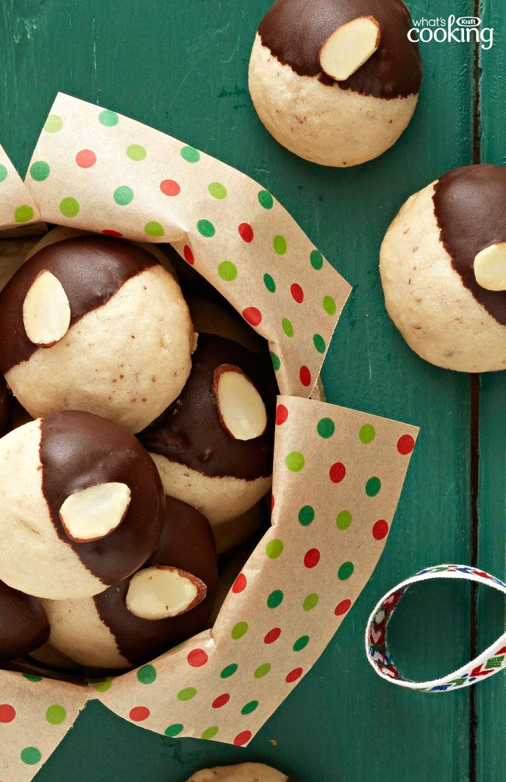 Chocolate Dipped Mexican Wedding Cookies Recipe