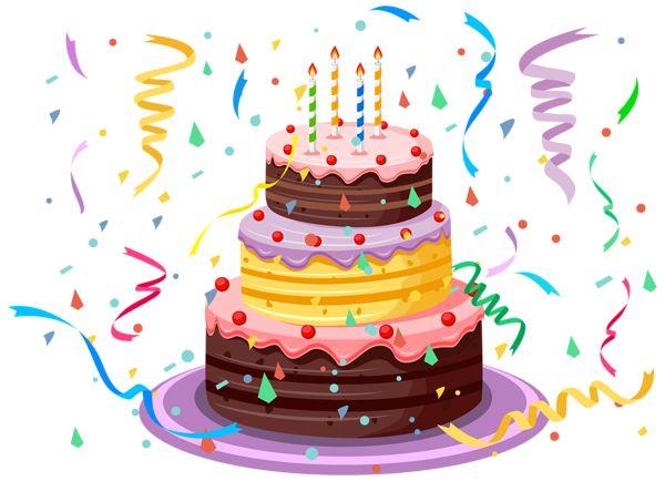 Pin de kim heiser em birthday clip birthday cake happy birthday cakes e birthday - Clipart anniversaire 60 ans ...