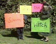 TV ACRES: Horror > Witches & Sorceresses > Elizabeth Spriggs as The Witch (Simon and the Witch)