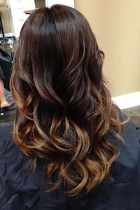 """Balayage - A highlighting tecnique. """"Balayage is a more natural looking highlight.  Your outgrowth is less noticeable because of the different angles used to paint your hair. """""""