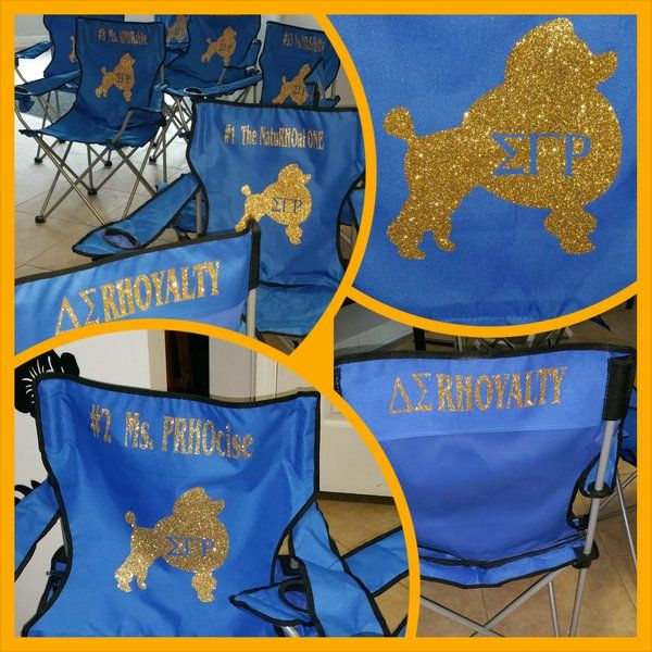 Sigma Gamma Rho Picnic Chair