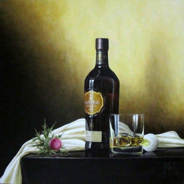 Ian Mastin 'Whae's Like Us' Acrylic | Scottish Contemporary Art