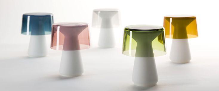 murano glass used in BrogliatoTraverso's handmade table lamps