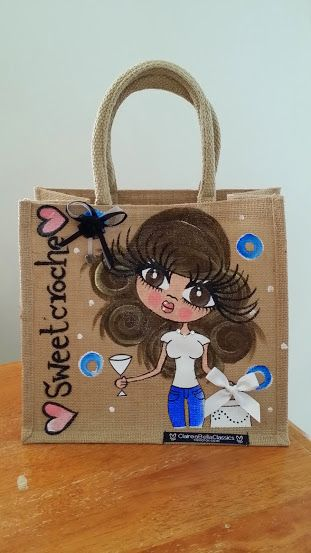 My Claireabella personalised bag :-))