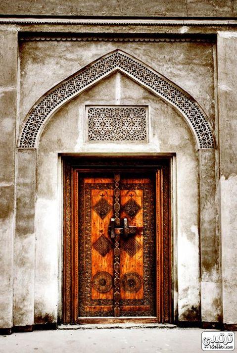 Bahrain Old Door.