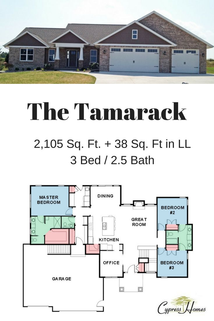 Check out our tamarack floor plan for more on the