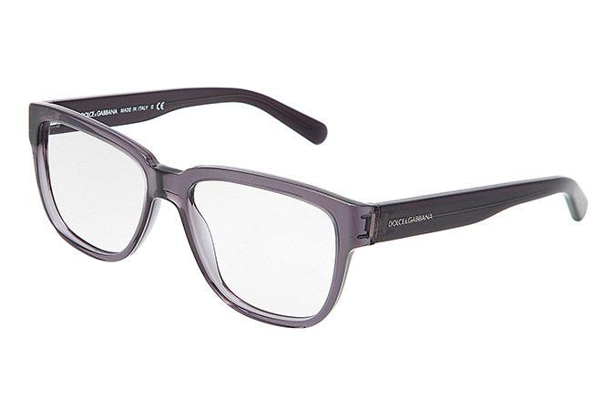 443f6c0c2d men  39 s gray plastic eyeglasses with squared frame by Dolce   Gabbana dg