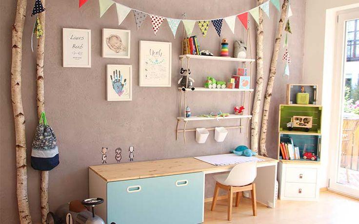 Bricolage pour la pépinière   Conseils de bricolage   simplement hyggelicious   – Wohnideen / Kinderzimmer