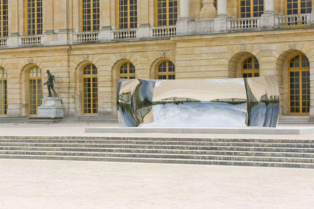 Les œuvres d'Anish Kapoor dans les jardins de Versailles | Glamour