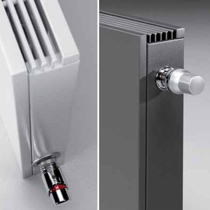 Jaga design radiatoren met prachtige design radiatorknop