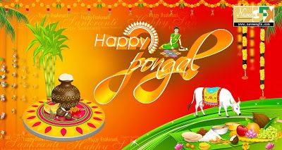Happy Pongal Psd Downloads Happy Sankranti Psd Templates Free